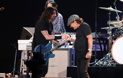 Watch Foo Fighters team up with Brian Johnson to cover AC/DC's 'Back In Black'