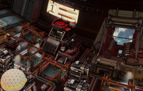 'Ixion' is a narrative management game set aboard a space station