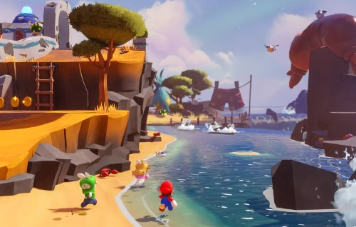 Ubisoft reveals 'Mario + Rabbids Sparks Of Hope' story and gameplay details