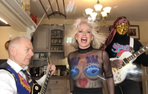 Robert Fripp and Toyah Willcox take on Rolling Stones classic 'Satisfaction'