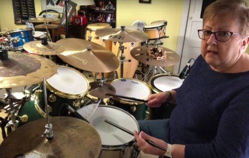 Drumming grandma surpasses 20 million views with recent TikTok lesson