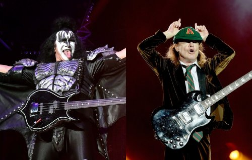 "KISS' Gene Simmons on first meeting AC/DC's Angus Young: ""He didn't have front teeth"""
