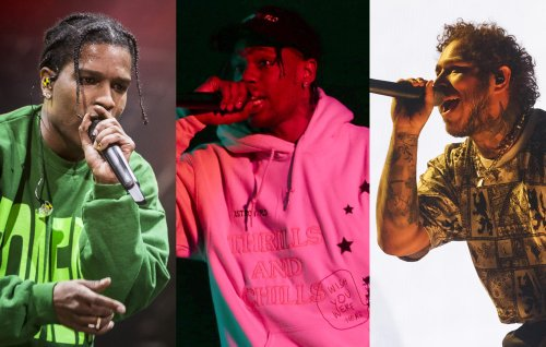 A$AP Rocky, Travis Scott, Post Malone for Rolling Loud Miami 2021