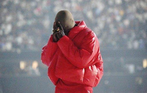 Kanye West shows off humble living quarters at Atlanta's Mercedes-Benz Stadium