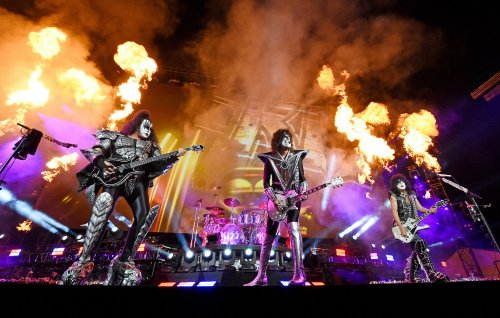 Watch KISS play a five-song set at New York's Tribeca Film Festival