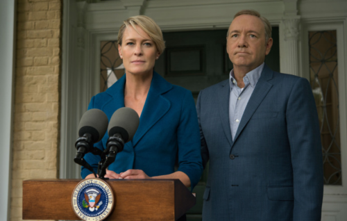 "Wright: It would've been ""unacceptable"" to cancel 'House Of Cards'"