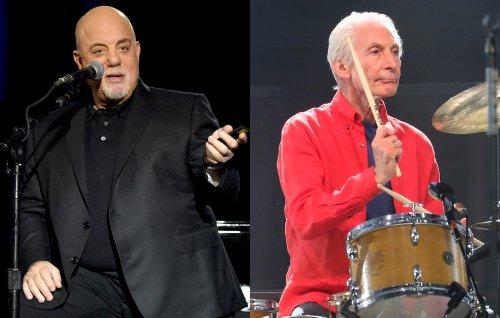 Watch Billy Joel pay tribute to Rolling Stones' Charlie Watts in Cincinnati