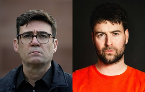 Manchester Mayor Andy Burnham shouts out Courteeners in victory speech