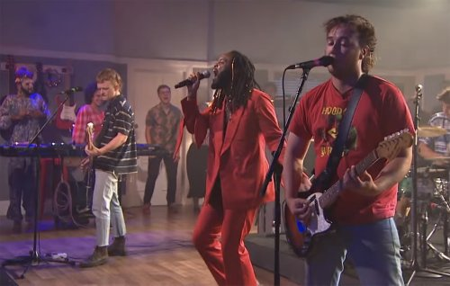 The Chats and Genesis Owusu deliver punk cover of Talking Heads' 'Psycho Killer'