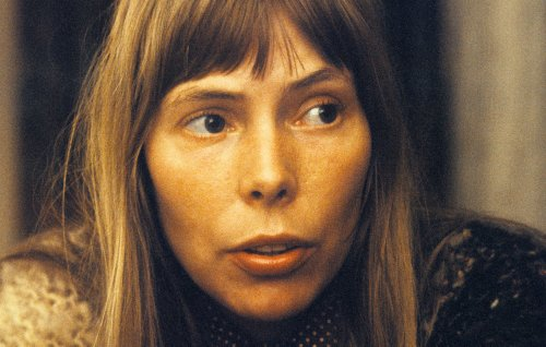 Joni Mitchell reflects on 50th anniversary of 'Blue' in rare video message