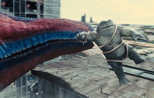 'The Suicide Squad' brings giant Starro statue to Leicester Square