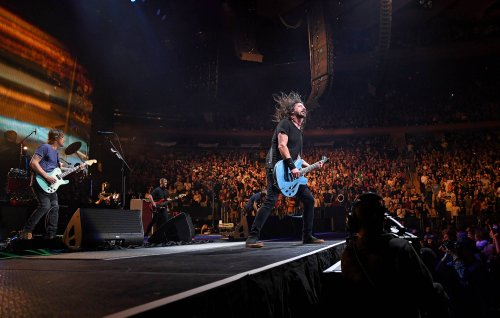 Here's what went down at Foo Fighters' huge, fully vaccinated New York show