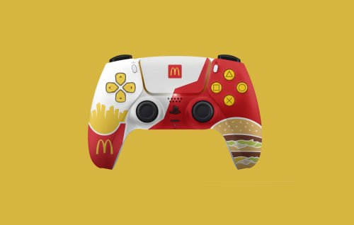 PlayStation cancels planned limited-edition McDonald's PS5 controller