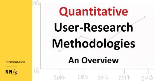 Quantitative User-Research Methodologies: An Overview