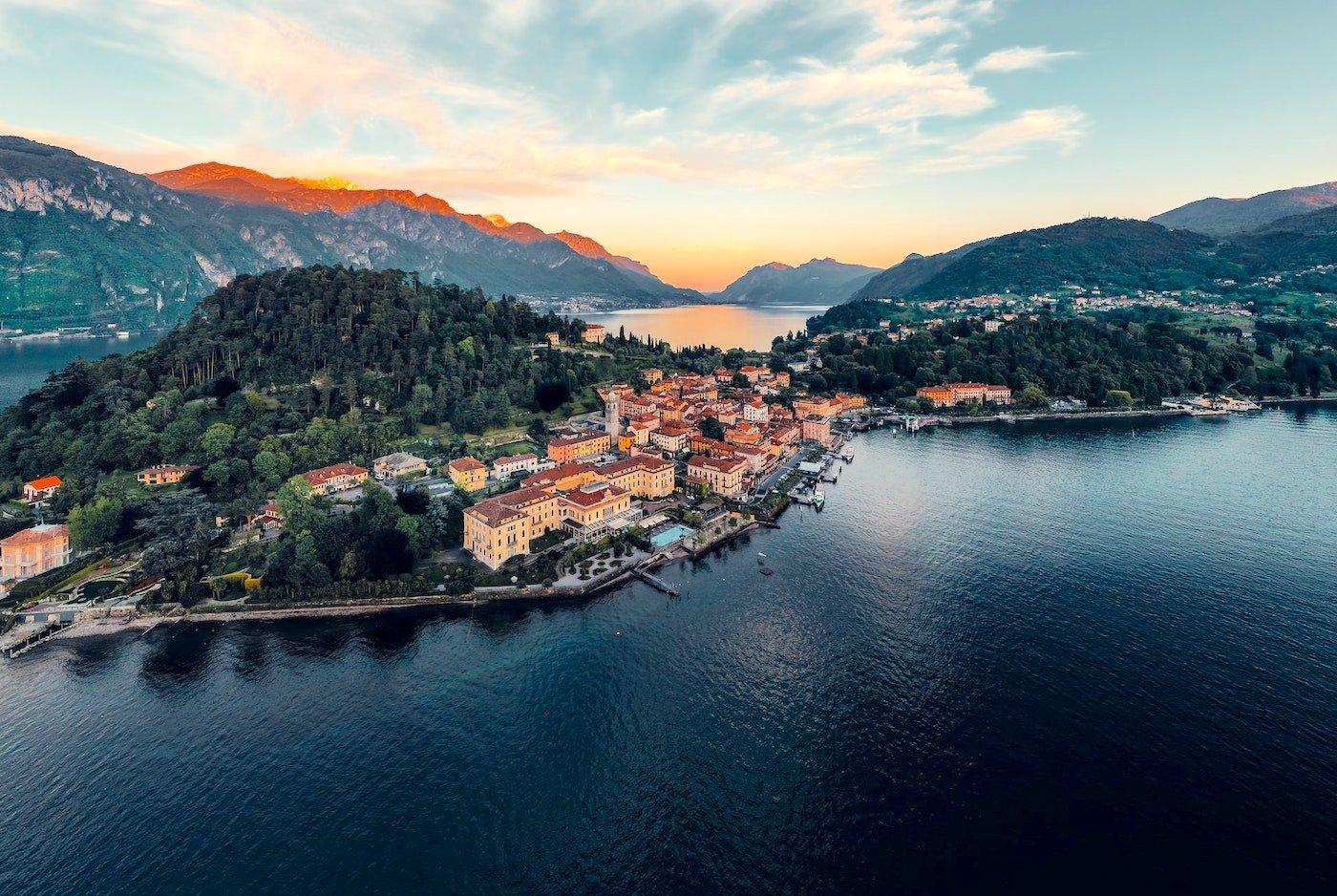 Die besten Hotels an italienischen Seen
