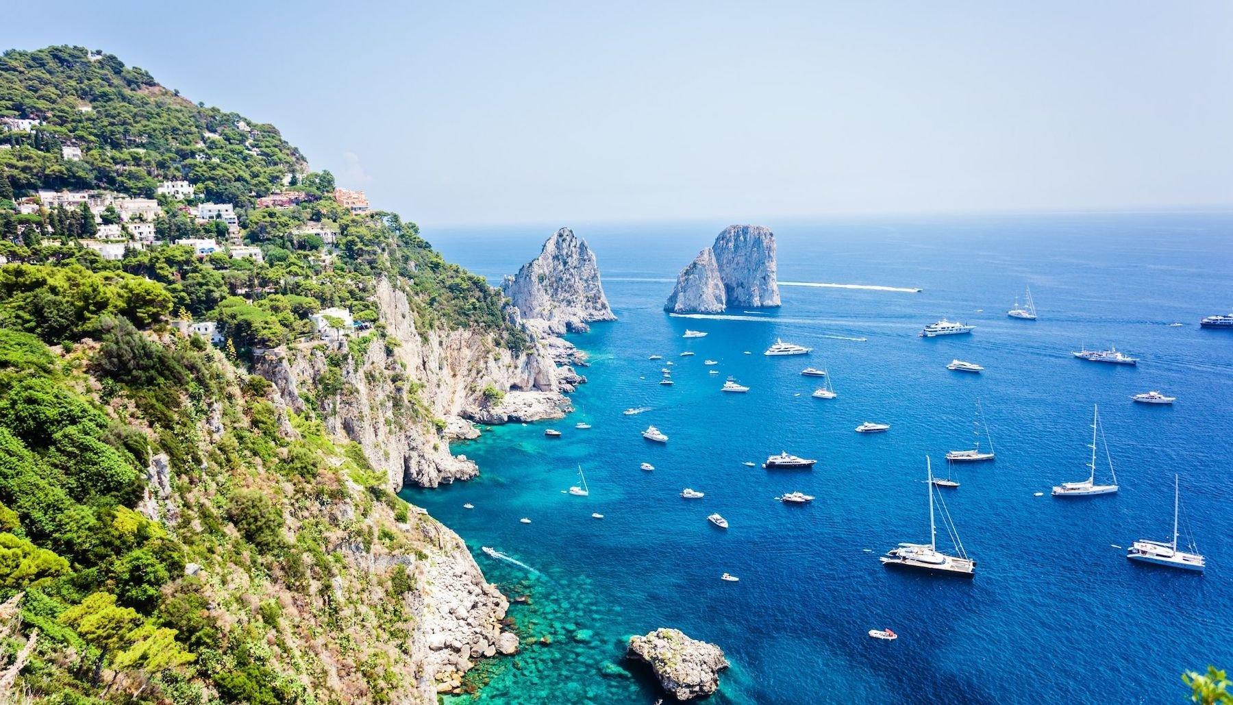 8 Capri Hotels für deinen ultimativen Inselurlaub