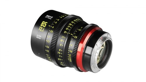 Meike Adds 85mm T2.1 Cine Lens to Full-Frame Lineup