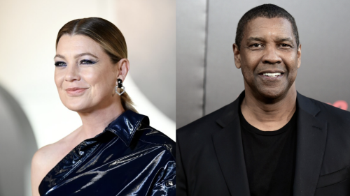 How Ellen Pompeo and Denzel Washington Overcame Differences on 'Grey's Anatomy'