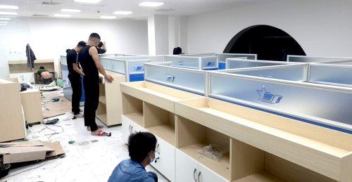 Thi công nội thất văn phòng tại KCN Bắc Ninh - Nội Thất Đa Lợi