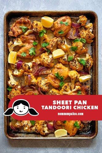 Sheet Pan Tandoori Chicken