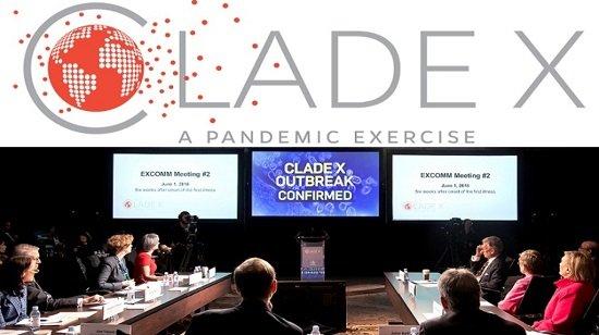 Clade X: Bioweapon Virus Pandemic Simulation 2018 - cover
