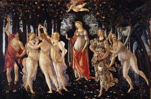 Lettura di un'opera: La Primavera di Sandro Botticelli
