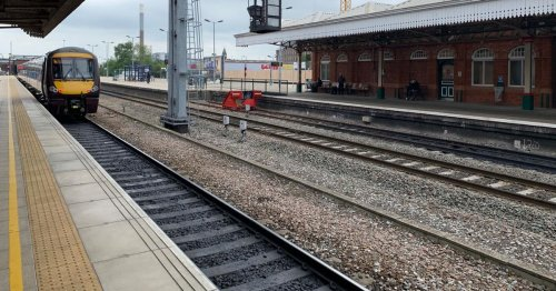 Line shut after person hit by a train