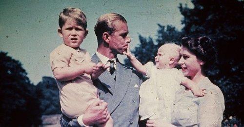 Prins Philip als vader: streng, maar altijd een luisterend oor