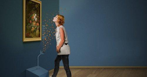 Ruiken aan kunst: vervlogen geuren in kleuren