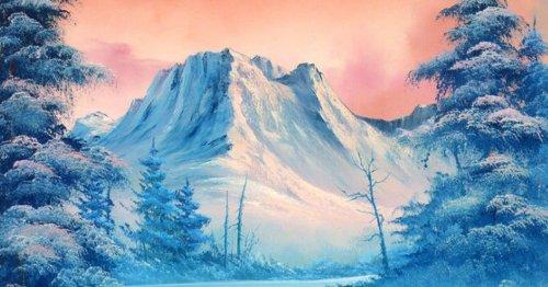 Workshop: leer schilderen als Bob Ross