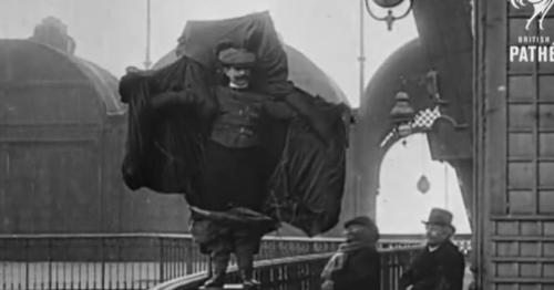 Franz Reichelt, l'homme qui se jeta de la Tour Eiffel devant les caméras