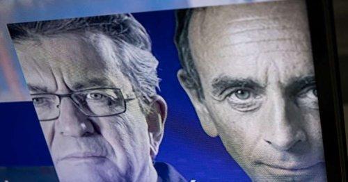 Mélenchon ou Zemmour ? 69 % des Français les jugent incapables de gouverner la France