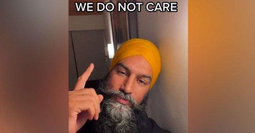 Jagmeet Singh, le candidat canadien qui dépoussière la communication politique sur TikTok