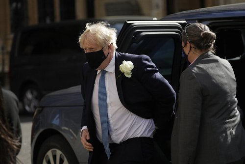 The Latest: Britain's Johnson concerned about India variant