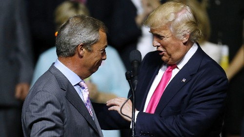 Reporter Shows The Links Between The Men Behind Brexit And The Trump Campaign