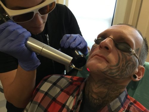 On a Good Note: A Tattoo Removal Program For Former Inmates And A Scientist Barbie