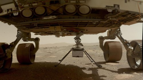 With Mini Helicopter On Mars, NASA Hopes To Reinvent Flight 'On Another World'