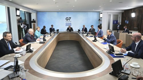 Biden Urges G-7 Leaders To Call Out And Compete With China
