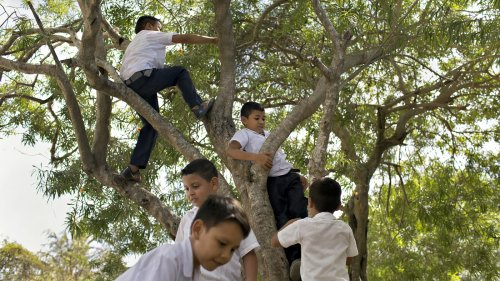 PHOTOS: Despite War And Violence, Kids Still Find 'Moments Of Playfulness'