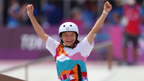Teenagers Win All 3 Medals In Women's Street Skateboarding Event