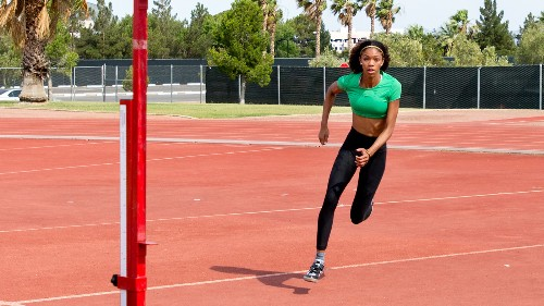 A Gifted High Jumper Gets Set To Leap Onto The World Stage