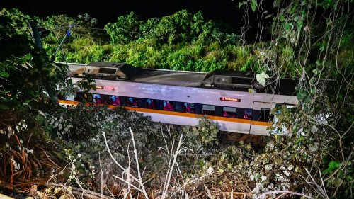 More Than 50 Dead, Dozens Injured As Taiwan Train Derails Inside Tunnel