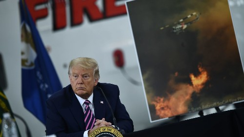 'I Don't Think Science Knows': Visiting Fires, Trump Denies Climate Change