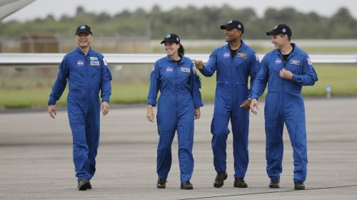 Astronauts Arrive In Florida To Ready For SpaceX Launch To Space Station