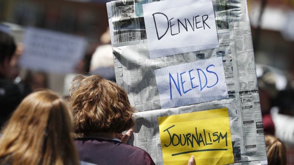 Journalism, local news, and press freedom. - cover