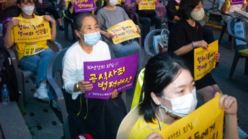 South Korean Court Orders Japan To Compensate 12 WWII Sex Slaves