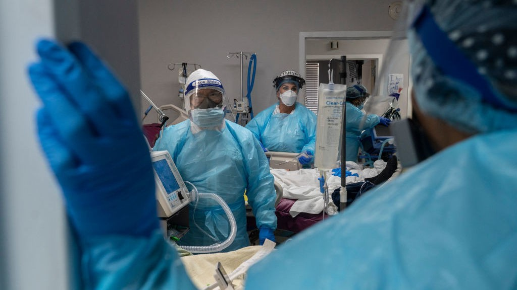 Near Crisis, Some Hospitals Face Tough Decisions In Caring For Floods Of Patients