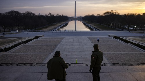 'All Hands On Deck': National Mall Is Closed, As Agencies Fortify D.C.