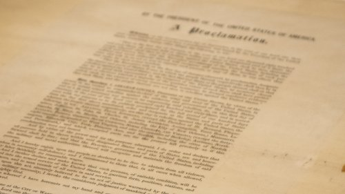 To Celebrate Juneteenth, Listen To A Reading Of The Emancipation Proclamation