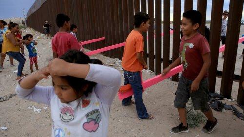 Seesaws Built On U.S. Border Wall Win Prestigious Design Prize
